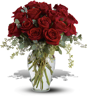 Full Heart - 16 Premium Red Roses