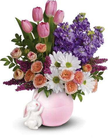 Send a Hug Bunny Love Bouquet